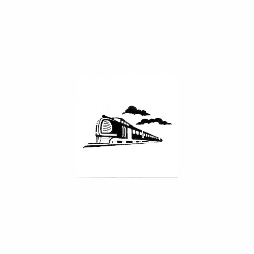 Passenger Train Decal Size option will determine the size from the longest side Industry standard high performance calendared vinyl film Cut from Oracle 651 2.5 mil Outdoor durability is 7 years Glossy surface finish
