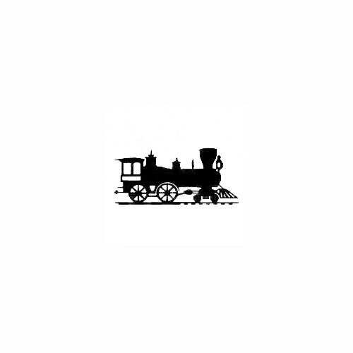 Choo Choo Train Decal Size option will determine the size from the longest side Industry standard high performance calendared vinyl film Cut from Oracle 651 2.5 mil Outdoor durability is 7 years Glossy surface finish