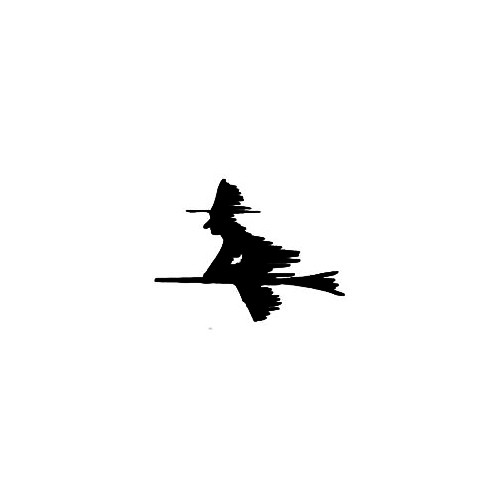 Witch Silhouette Decal (04) Size option will determine the size from the longest side Industry standard high performance calendared vinyl film Cut from Oracle 651 2.5 mil Outdoor durability is 7 years Glossy surface finish