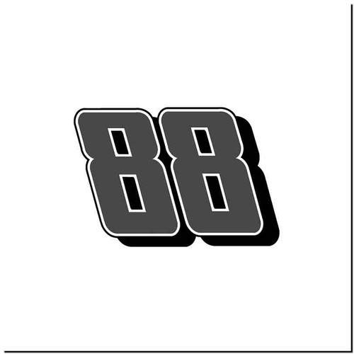 88 V1 Vinyl Decal Sticker Size option will determine the size from the longest side Industry standard high performance calendared vinyl film Cut from Oracle 651 2.5 mil Outdoor durability is 7 years Glossy surface finish