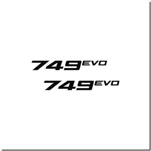 749 Evo Vinyl Decal Sticker Size option will determine the size from the longest side Industry standard high performance calendared vinyl film Cut from Oracle 651 2.5 mil Outdoor durability is 7 years Glossy surface finish