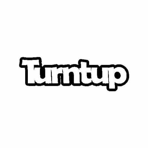 Saying Turntup  Vinyl Decal Sticker  Size option will determine the size from the longest side Industry standard high performance calendared vinyl film Cut from Oracle 651 2.5 mil Outdoor durability is 7 years Glossy surface finish