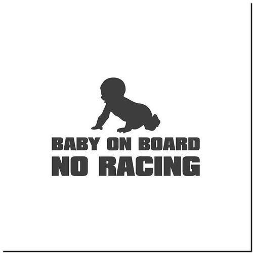 Baby On Board V3 Vinyl Decal Sticker Size option will determine the size from the longest side Industry standard high performance calendared vinyl film Cut from Oracle 651 2.5 mil Outdoor durability is 7 years Glossy surface finish
