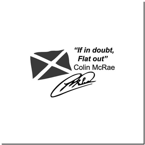 Colin 1 Vinyl Decal Sticker Size option will determine the size from the longest side Industry standard high performance calendared vinyl film Cut from Oracle 651 2.5 mil Outdoor durability is 7 years Glossy surface finish