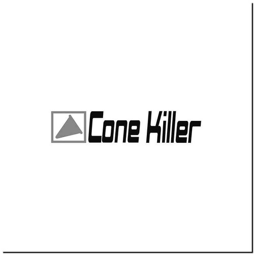 Cone Killer Vinyl Decal Sticker Size option will determine the size from the longest side Industry standard high performance calendared vinyl film Cut from Oracle 651 2.5 mil Outdoor durability is 7 years Glossy surface finish
