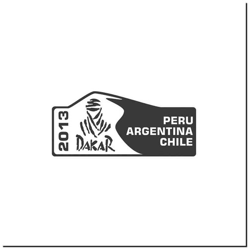 Dakar 13 Vinyl Decal Sticker Size option will determine the size from the longest side Industry standard high performance calendared vinyl film Cut from Oracle 651 2.5 mil Outdoor durability is 7 years Glossy surface finish