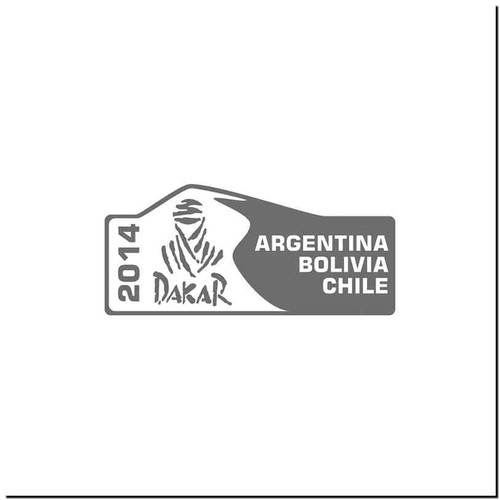 Dakar 14 Vinyl Decal Sticker Size option will determine the size from the longest side Industry standard high performance calendared vinyl film Cut from Oracle 651 2.5 mil Outdoor durability is 7 years Glossy surface finish