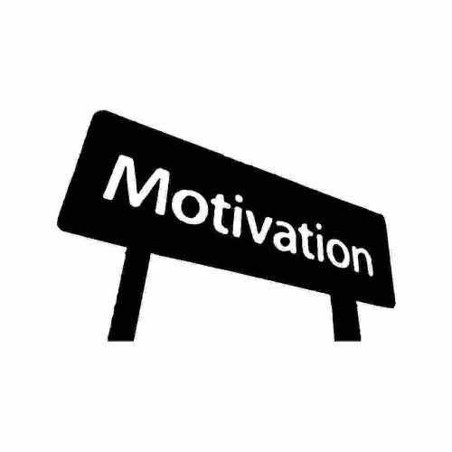 Saying Motivation  Vinyl Decal Sticker  Size option will determine the size from the longest side Industry standard high performance calendared vinyl film Cut from Oracle 651 2.5 mil Outdoor durability is 7 years Glossy surface finish