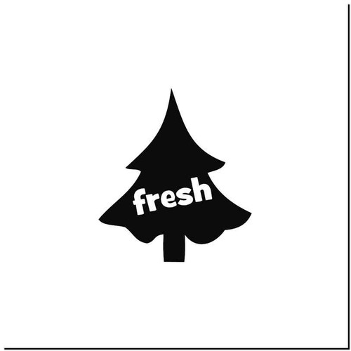 Fresh 3 Vinyl Decal Sticker Size option will determine the size from the longest side Industry standard high performance calendared vinyl film Cut from Oracle 651 2.5 mil Outdoor durability is 7 years Glossy surface finish