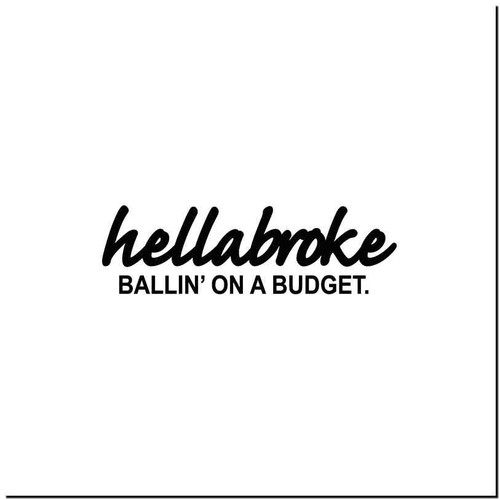 Hellabroke 2 Vinyl Decal Sticker Size option will determine the size from the longest side Industry standard high performance calendared vinyl film Cut from Oracle 651 2.5 mil Outdoor durability is 7 years Glossy surface finish