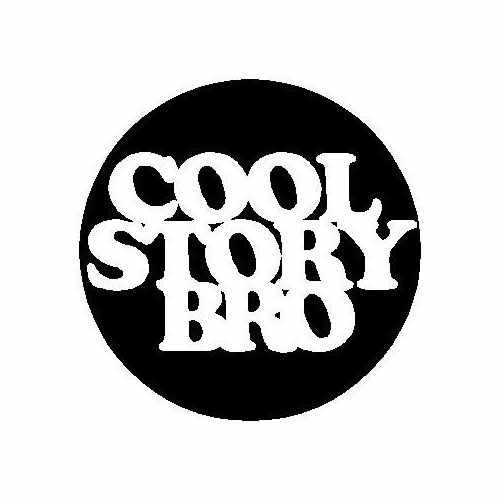 Saying Cool Story Bro Patch  Vinyl Decal Sticker  Size option will determine the size from the longest side Industry standard high performance calendared vinyl film Cut from Oracle 651 2.5 mil Outdoor durability is 7 years Glossy surface finish