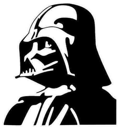 Darth Vader Vinyl Decal Sticker Size option will determine the size from the longest side Industry standard high performance calendared vinyl film Cut from Oracle 651 2.5 mil Outdoor durability is 7 years Glossy surface finish