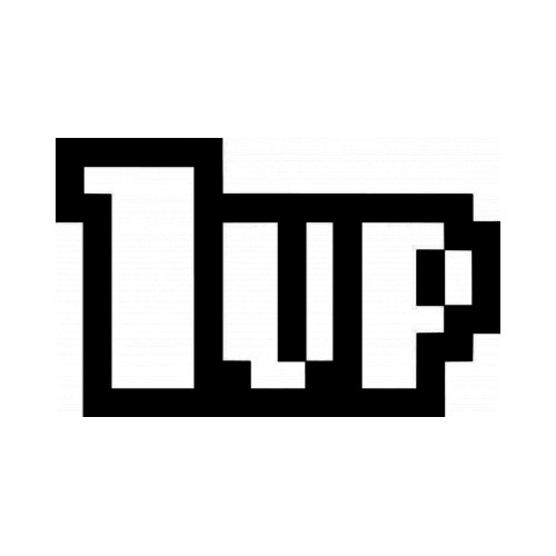 1 Up Gaming JDM Japanese Vinyl Decal Sticker 2  Size option will determine the size from the longest side Industry standard high performance calendared vinyl film Cut from Oracle 651 2.5 mil Outdoor durability is 7 years Glossy surface finish