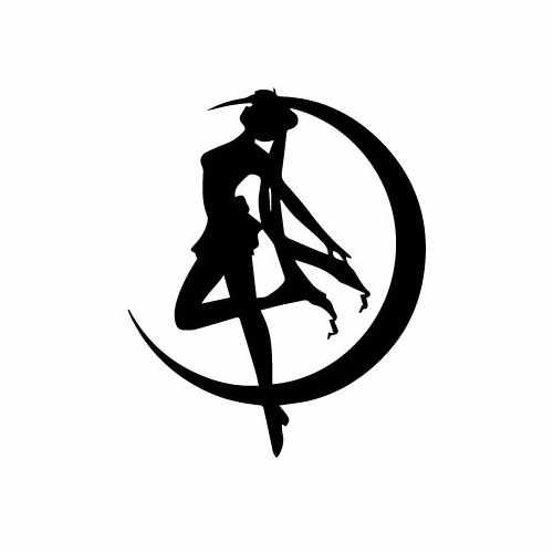 Sailor Moon Silo Vinyl Decal Sticker  Size option will determine the size from the longest side Industry standard high performance calendared vinyl film Cut from Oracle 651 2.5 mil Outdoor durability is 7 years Glossy surface finish