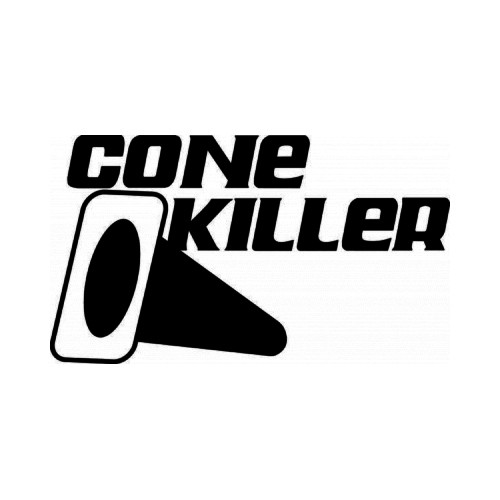 Cone Killer JDM Japanese Vinyl Decal Sticker  Size option will determine the size from the longest side Industry standard high performance calendared vinyl film Cut from Oracle 651 2.5 mil Outdoor durability is 7 years Glossy surface finish