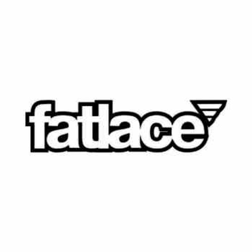 Fatlace JDM Japanese Vinyl Decal Sticker 6  Size option will determine the size from the longest side Industry standard high performance calendared vinyl film Cut from Oracle 651 2.5 mil Outdoor durability is 7 years Glossy surface finish