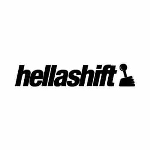 Hella Shift JDM Japanese Vinyl Decal Sticker  Size option will determine the size from the longest side Industry standard high performance calendared vinyl film Cut from Oracle 651 2.5 mil Outdoor durability is 7 years Glossy surface finish