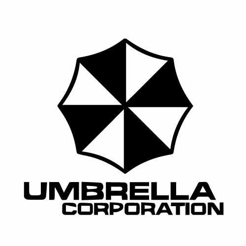 Resident Evil Umbrella Corps W_Text Vinyl Decal Sticker  Size option will determine the size from the longest side Industry standard high performance calendared vinyl film Cut from Oracle 651 2.5 mil Outdoor durability is 7 years Glossy surface finish