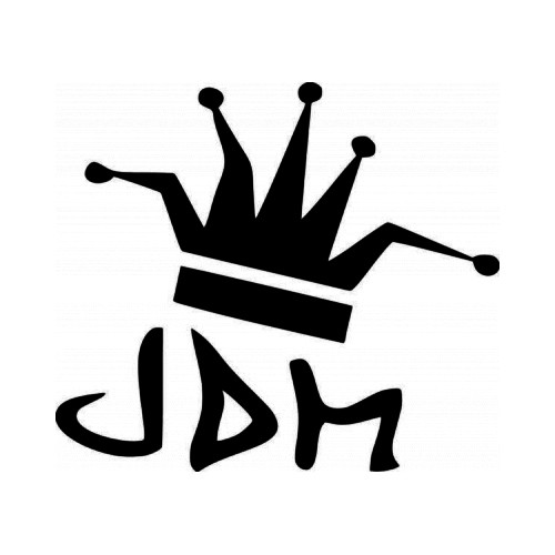 Jigging and Gigging vinyl decal sticker available in several vinyl colors