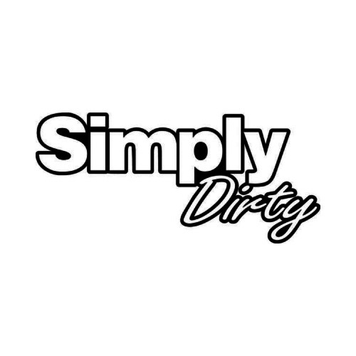 Simply Clean JDM Japanese Vinyl Decal Sticker 6  Size option will determine the size from the longest side Industry standard high performance calendared vinyl film Cut from Oracle 651 2.5 mil Outdoor durability is 7 years Glossy surface finish
