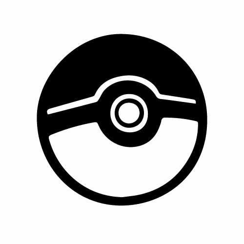Pokeball Vinyl Decal Sticker  Size option will determine the size from the longest side Industry standard high performance calendared vinyl film Cut from Oracle 651 2.5 mil Outdoor durability is 7 years Glossy surface finish