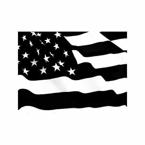 Patriot Waving Flag  Vinyl Decal Sticker  Size option will determine the size from the longest side Industry standard high performance calendared vinyl film Cut from Oracle 651 2.5 mil Outdoor durability is 7 years Glossy surface finish