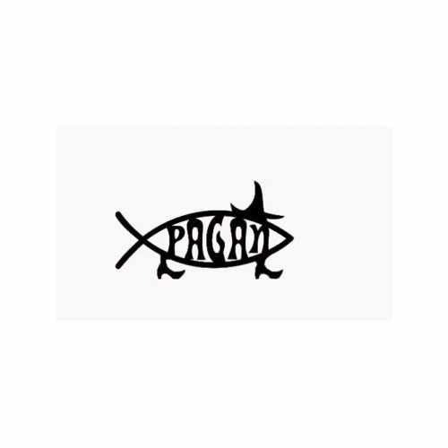 Pagan Fish Witch  Vinyl Decal Sticker  Size option will determine the size from the longest side Industry standard high performance calendared vinyl film Cut from Oracle 651 2.5 mil Outdoor durability is 7 years Glossy surface finish