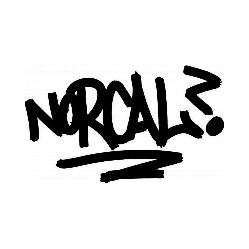 Norcal JDM Japanese Vinyl Decal Sticker 1  Size option will determine the size from the longest side Industry standard high performance calendared vinyl film Cut from Oracle 651 2.5 mil Outdoor durability is 7 years Glossy surface finish