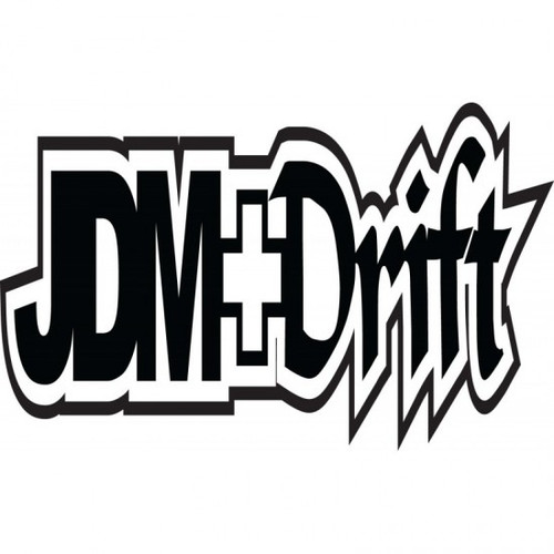 JDM Drift JDM Car Vinyl Sticker Decal  Size option will determine the size from the longest side Industry standard high performance calendared vinyl film Cut from Oracle 651 2.5 mil Outdoor durability is 7 years Glossy surface finish