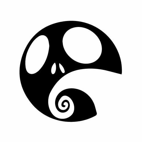 Nightmare Before Christmas Jack And Hill Vinyl Decal Sticker  Size option will determine the size from the longest side Industry standard high performance calendared vinyl film Cut from Oracle 651 2.5 mil Outdoor durability is 7 years Glossy surface finish