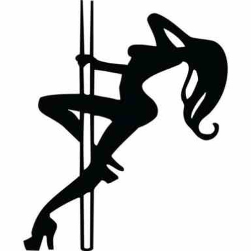 Pole Dancer JDM Car Vinyl Sticker Decal  Size option will determine the size from the longest side Industry standard high performance calendared vinyl film Cut from Oracle 651 2.5 mil Outdoor durability is 7 years Glossy surface finish