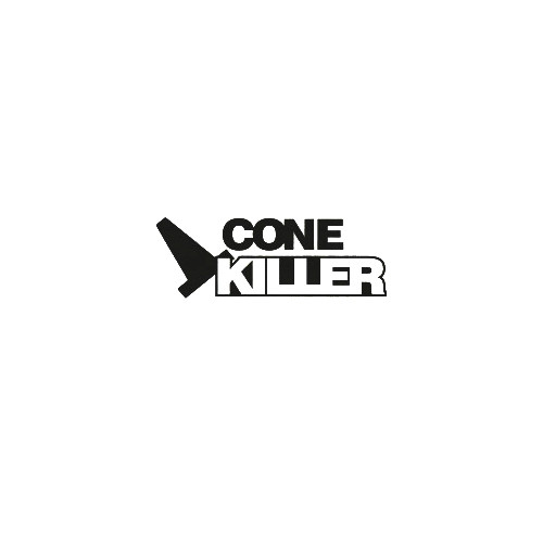JDM cone killer vinyl decal sticker  Size option will determine the size from the longest side Industry standard high performance calendared vinyl film Cut from Oracle 651 2.5 mil Outdoor durability is 7 years Glossy surface finish