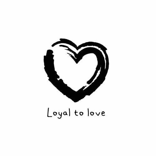 Loyal To Love  Vinyl Decal Sticker  Size option will determine the size from the longest side Industry standard high performance calendared vinyl film Cut from Oracle 651 2.5 mil Outdoor durability is 7 years Glossy surface finish