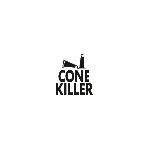 JDM cone killer small vinyl decal sticker  Size option will determine the size from the longest side Industry standard high performance calendared vinyl film Cut from Oracle 651 2.5 mil Outdoor durability is 7 years Glossy surface finish