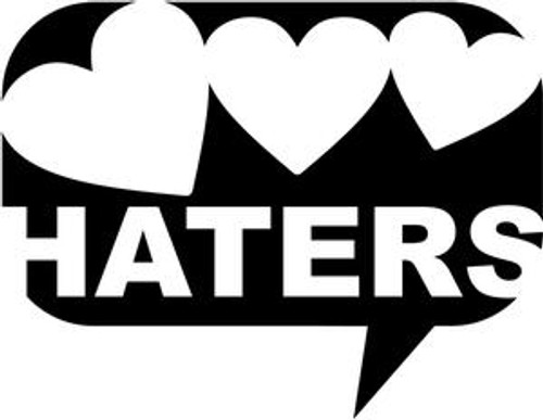 Love Haters JDM Decal  Size option will determine the size from the longest side Industry standard high performance calendared vinyl film Cut from Oracle 651 2.5 mil Outdoor durability is 7 years Glossy surface finish