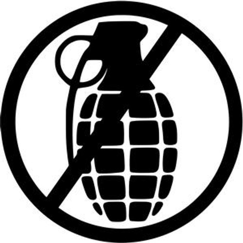 No Grenade JDM Decal  Size option will determine the size from the longest side Industry standard high performance calendared vinyl film Cut from Oracle 651 2.5 mil Outdoor durability is 7 years Glossy surface finish