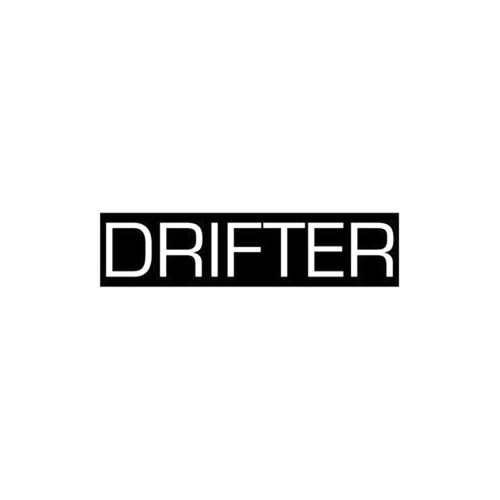 JDM Drifter Decal  Size option will determine the size from the longest side Industry standard high performance calendared vinyl film Cut from Oracle 651 2.5 mil Outdoor durability is 7 years Glossy surface finish