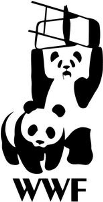 WWF Wrestling Drift Panda JDM Decal  Size option will determine the size from the longest side Industry standard high performance calendared vinyl film Cut from Oracle 651 2.5 mil Outdoor durability is 7 years Glossy surface finish