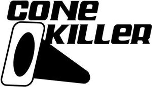 Cone Killer JDM Decal  Size option will determine the size from the longest side Industry standard high performance calendared vinyl film Cut from Oracle 651 2.5 mil Outdoor durability is 7 years Glossy surface finish