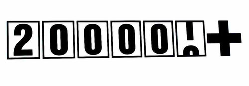 200,000+ JDM odometer mileage Vinyl Decal Sticker  Size option will determine the size from the longest side Industry standard high performance calendared vinyl film Cut from Oracle 651 2.5 mil Outdoor durability is 7 years Glossy surface finish