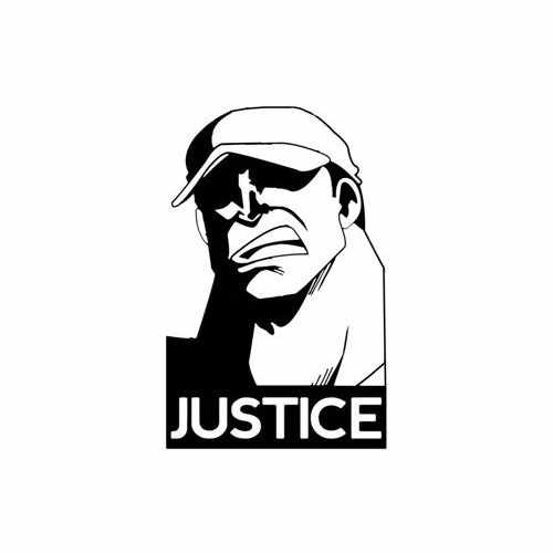 Justice  Vinyl Decal Sticker  Size option will determine the size from the longest side Industry standard high performance calendared vinyl film Cut from Oracle 651 2.5 mil Outdoor durability is 7 years Glossy surface finish