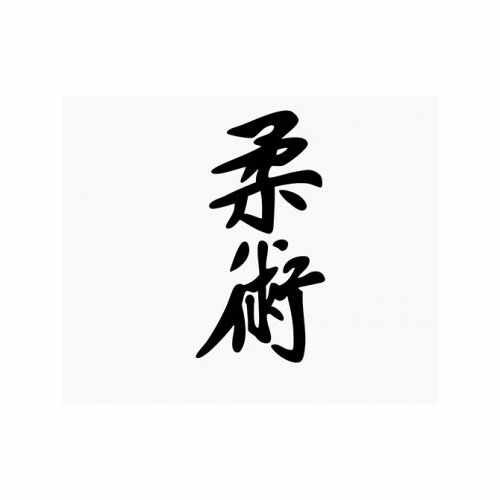 Jiu Jitsu Kanji  Vinyl Decal Sticker  Size option will determine the size from the longest side Industry standard high performance calendared vinyl film Cut from Oracle 651 2.5 mil Outdoor durability is 7 years Glossy surface finish
