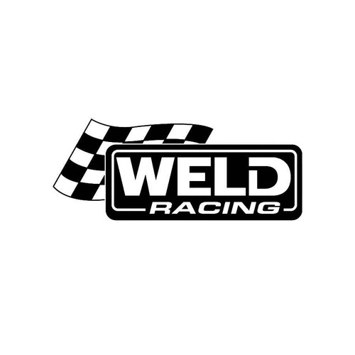 Weld Racing Decals  Vinl Decal Car Graphics Made from only the best quality vinyl Glossy Outdoor lifespan 5 -7 years Indoor lifespan is much longer Easy application
