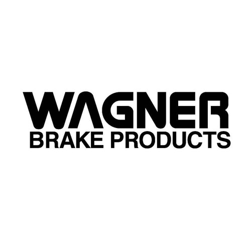 Wagner Brakes Decals  Vinl Decal Car Graphics Made from only the best quality vinyl Glossy Outdoor lifespan 5 -7 years Indoor lifespan is much longer Easy application