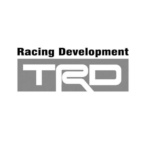 TRD Toyota Racing Development Decals 02  Vinl Decal Car Graphics Made from only the best quality vinyl Glossy Outdoor lifespan 5 -7 years Indoor lifespan is much longer Easy application