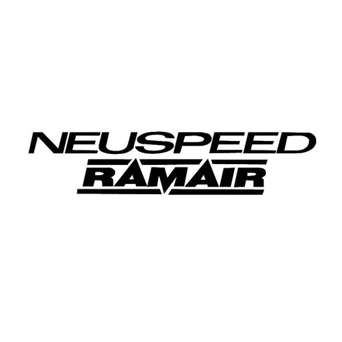 Neuspeed RamAir Decals  Vinl Decal Car Graphics Made from only the best quality vinyl Glossy Outdoor lifespan 5 -7 years Indoor lifespan is much longer Easy application
