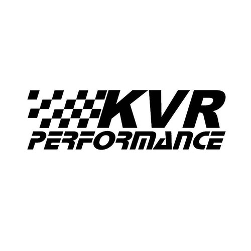 KVR Performance Decals  Vinl Decal Car Graphics Made from only the best quality vinyl Glossy Outdoor lifespan 5 -7 years Indoor lifespan is much longer Easy application