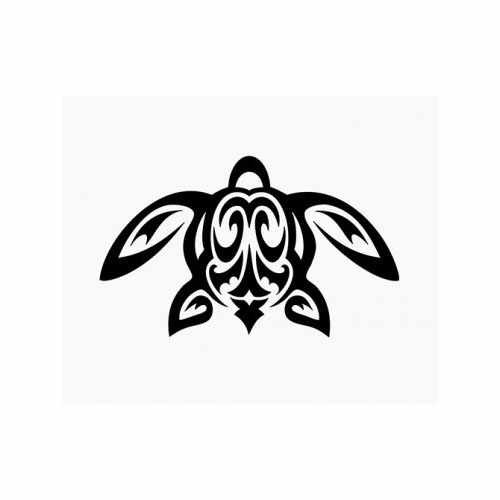 Honu Sea Turtle  Vinyl Decal Sticker  Size option will determine the size from the longest side Industry standard high performance calendared vinyl film Cut from Oracle 651 2.5 mil Outdoor durability is 7 years Glossy surface finish