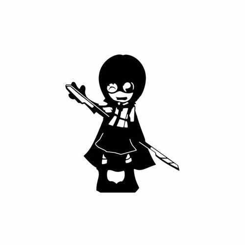 Hit Girl Kissass  Vinyl Decal Sticker  Size option will determine the size from the longest side Industry standard high performance calendared vinyl film Cut from Oracle 651 2.5 mil Outdoor durability is 7 years Glossy surface finish