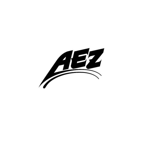 AEZ Wheels Decals  Vinl Decal Car Graphics Made from only the best quality vinyl Glossy Outdoor lifespan 5 -7 years Indoor lifespan is much longer Easy application